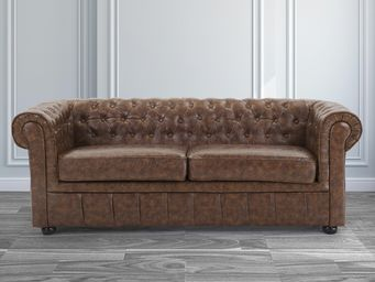 BELIANI - chesterfield - Canapé Chesterfield