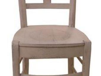 PROVENCE ET FILS - chaise fonda/ assise bois h. assise 60cm pour tabl - Chaise Haute De Bar