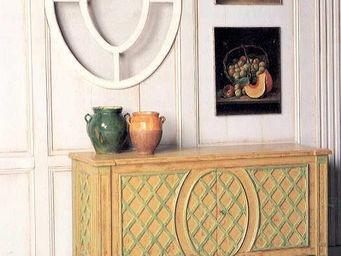 PROVENCE ET FILS - sauteuse ananas- 2 portes / dimensions 1.46×0.59x. - Buffet Bas
