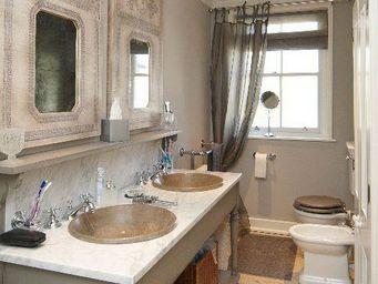 PROVENCE ET FILS -  - Meuble Double Vasque