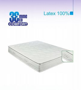 ECO CONFORT - matelas eco-confort 100% latex 7 zones 120 * 190 - Matelas En Latex