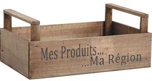 Aubry-Gaspard - caisse r�colte mes produits ma r�gion - Caisse De Rangement