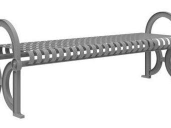 Maglin Site Furniture - mlb590b - Banc Urbain