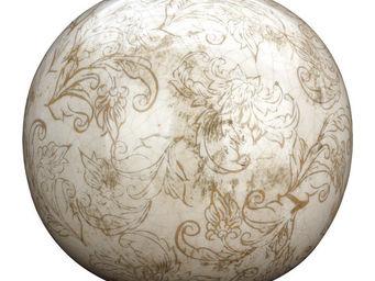 Interior's - boule d�co arabesque gm - Boule D�corative