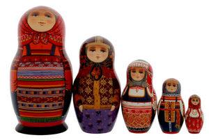 PETERHOF -  - Poup�es Russes