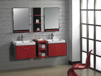 UsiRama.com - double meubles salle de bain design cokacole - Meuble Double Vasque