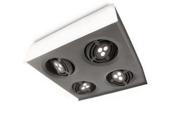 ARCITONE BY PHILIPS - plafonnier 4 spots led blanc 579863116 - Spot Encastr� Orientable