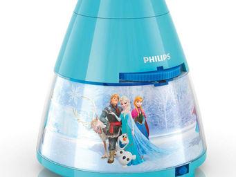 Philips - disney - veilleuse à pile projecteur led bleu rein - Veilleuse Enfant