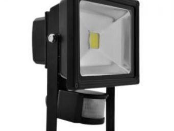 LUMIHOME - cob - projecteur extérieur led avec capteur l | lu - Projecteur Led