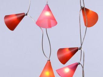 Pa Design - guirlande - fruits rouges 50 lumières 5m | guirlan - Guirlande Lumineuse