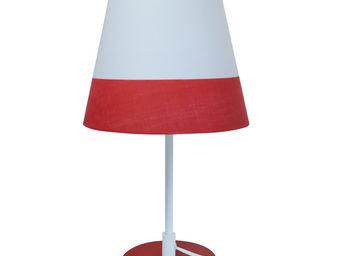 MARBELLA LIGHTING - milano - lampe à poser abat-jour orientable blanc/ - Lampe À Poser