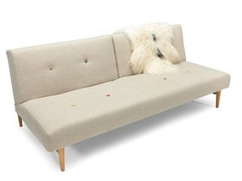 INNOVATION - canape design fiftynine blanc convertible lit 200* - Banquette Clic Clac