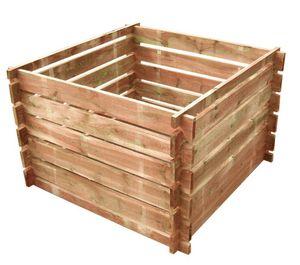 ROBIN HOOD - bac à compost mélèze huilé fsc 100% - Bac À Compost
