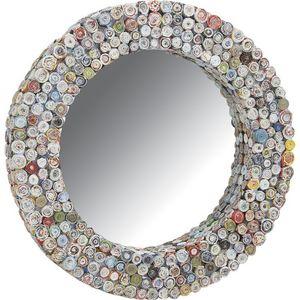 Aubry-Gaspard - miroir rond en papier recyclé - Miroir Hublot