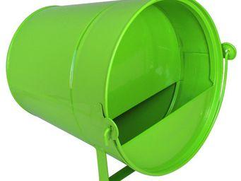 Guillouard - abreuvoir seau 4 litres vert - Mangeoire � Oiseaux