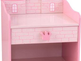 KidKraft - table de nuit château de princesse - Chevet Enfant