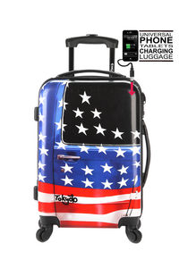 MICE WEEKEND AND TOKYOTO LUGGAGE - american door - Valise � Roulettes