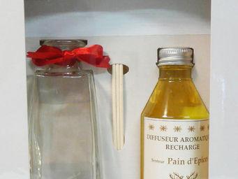 Le Pere Pelletier - diffuseur aromatique senteur pain d'épices noël 2 - Diffuseur De Parfum Par Capillarité