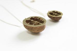 VIRGINIE FANTINO - sautoir noix - Parure De Bijoux