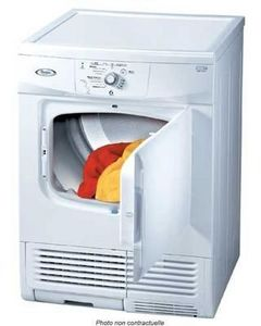 Whirlpool - condensation m�canique - S�che Linge