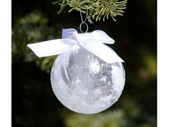Riviera Maison - frozen frosty - Boule De Noël