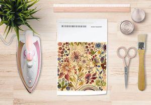 la Magie dans l'Image - papier transfert végétal beige - Transfert
