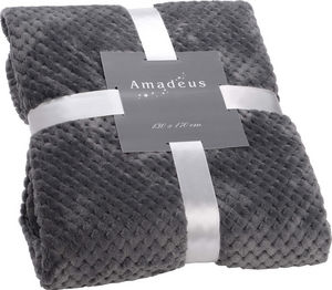 Amadeus - plaid damier gris - Plaid