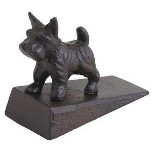 Aubry-Gaspard - stop porte petit chien en fonte - Cale Porte