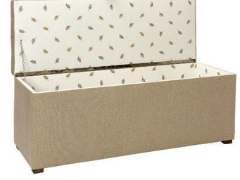Clock House Furniture - storage ottoman - Coffre
