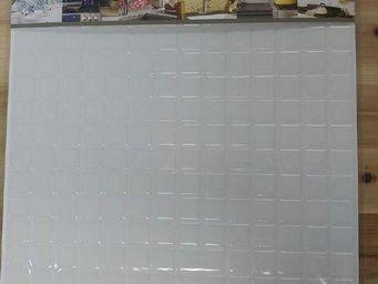 BEAUSTILE - mosaic blanc pur - Mosaique Adhésive