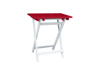 City Green - petite table pliante rectangulaire burano - 65 x 4 - Table De Jardin Pliante