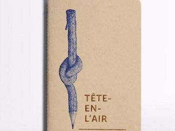 LES EDITIONS DU PAON - tête en l'air - Carnet De Notes