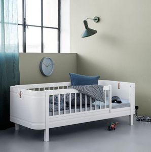 Oliver Furniture - wood mini+ hvid - Lit Enfant