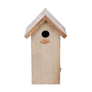 Esschert Design - nichoir toit métal couleur cuivre mésange charbonn - Maison D'oiseau