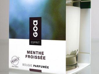 CLEM - bougie parfumée goa esprit menthe froissée - Bougie