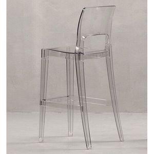 SCAB DESIGN - tabouret transparent easy - Chaise Haute De Bar