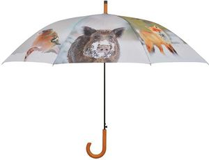 Esschert Design - parapluie motifs saison hiver - Parapluie