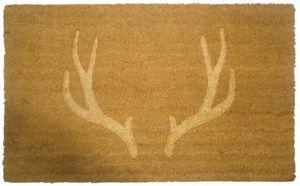 Aubry-Gaspard - paillasson en fibres de coco bois de cerf thermopr - Paillasson