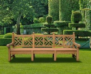 Lindsey Plantation Teak - chiswick - Banc De Jardin