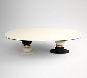 Muranti Furniture -  - Table De Repas Ovale