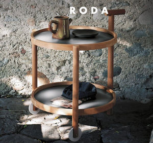 Roda - caddy - Table Roulante De Jardin