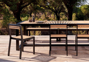GANDIA BLASCO - dna teck - Table De Jardin