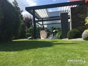 STORES MARQUISES - open'r2 - Pergola Adossée