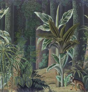 Ananbô - bornéo couleur - Papier Peint Panoramique