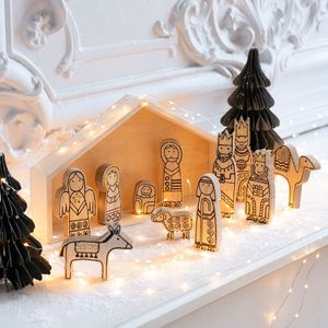 ALINEA -  - Crèche De Noël