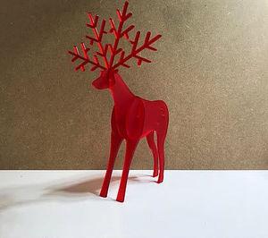 LES ALSACIENS DE PARIS - renne - Décoration De Noël