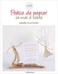 LES EDITIONS DE SAXE - poésie de papier - Livre De Décoration