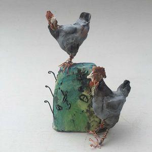 CHRISTINE CUMMINGS -  - Sculpture Animalière