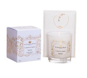 LA SAVONNERIE ROYALE - le bassin de neptune avec bracelet - Bougie Parfumée