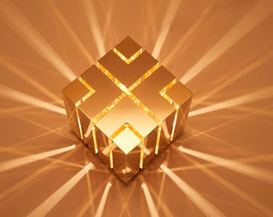 MYDRIAZ - cube 2 - Lampe À Poser